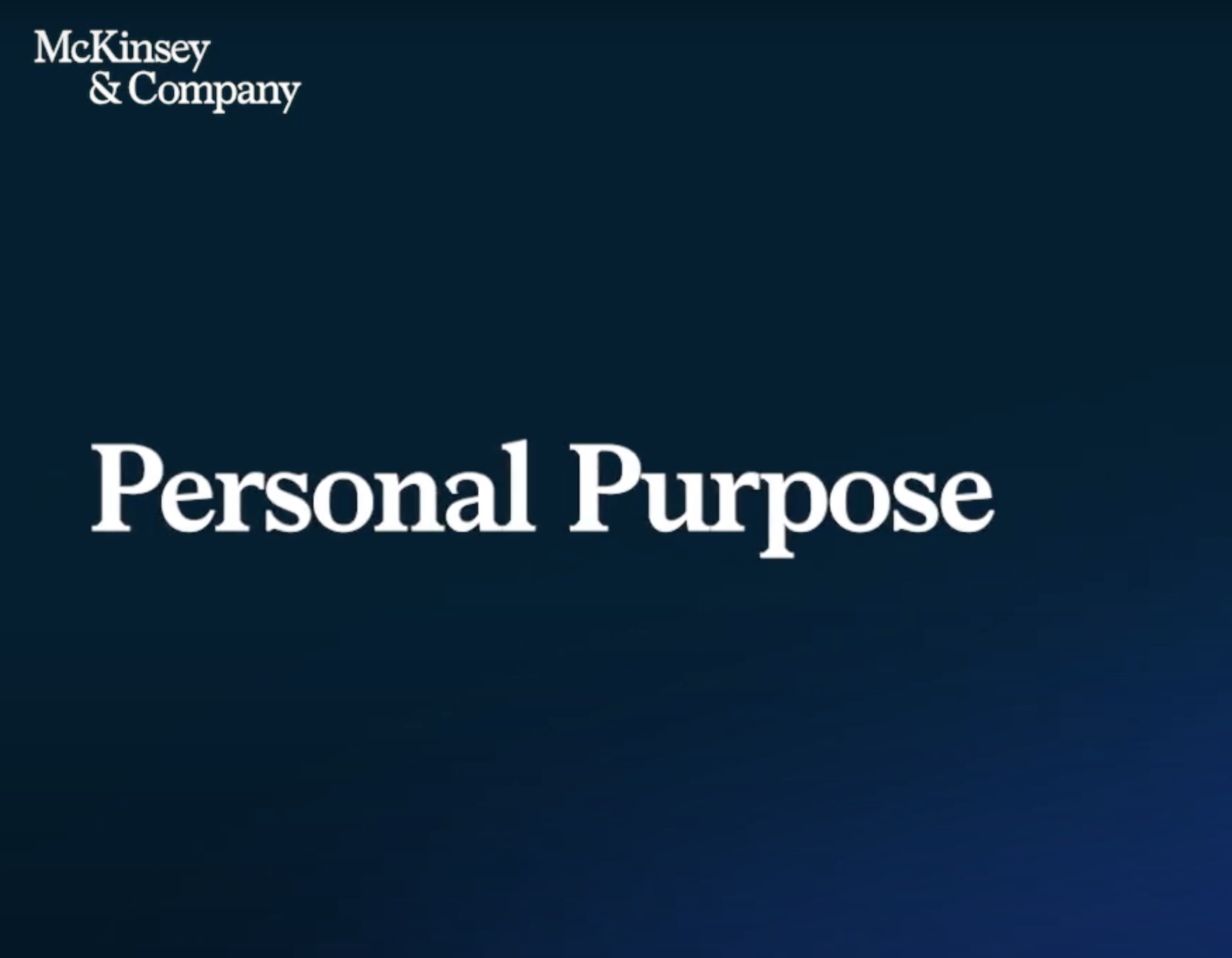 Leading with purpose and humanity: A conversation with Hubert Joly