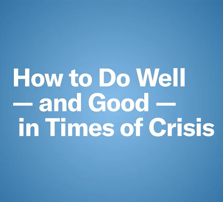 How Crises Created Opportunities For Good Leadership